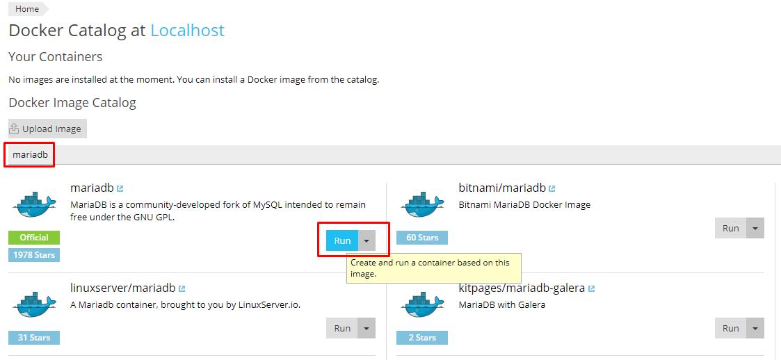 How to run MariaDB 10 3 on Plesk Onyx with Docker - VirtuBox