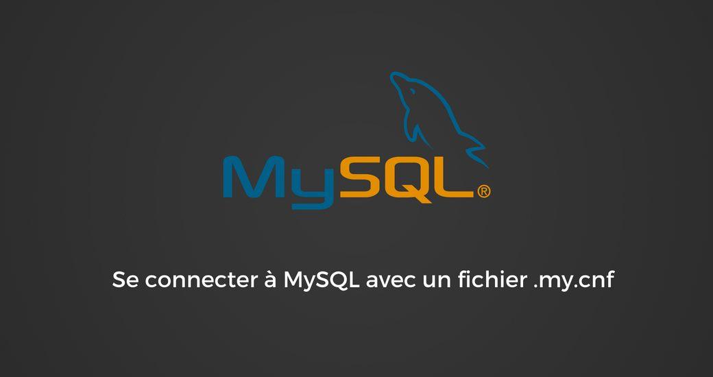 Connecter à MySQl